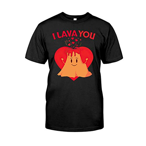 Situen Lava You I Love You Valentines Love 3 T-Shirt
