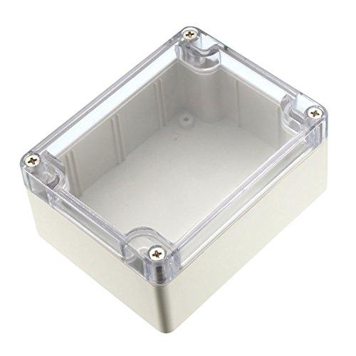 Sourcingmap 115x 90x, Elektronische Wasserdicht IP65versiegelten ABS Kunststoff DIY Junction Box Gehäuse Case Transparent