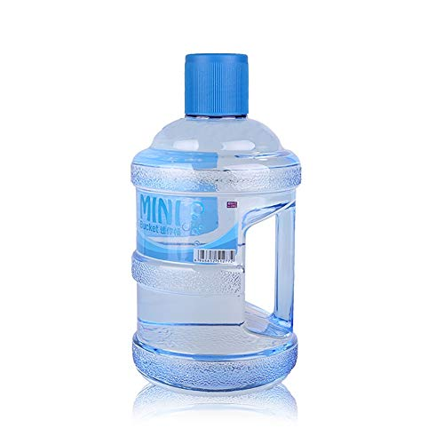 Réservoir d'eau De Voiture PC Bidon d'eau Portatif 630 mL réservoir de stockage portable poches bain bleu transparent pot extérieur cuve de stockage d'eau pure Camping Réservoir d'eau Potable avec Bec