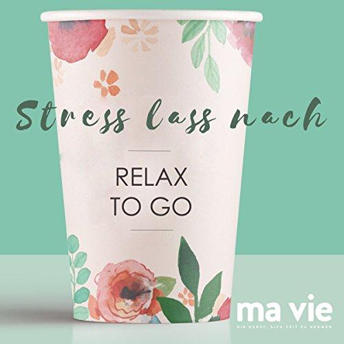 Stress lass nach audiobook cover art
