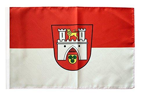 Flaggenfritze Flagge/Fahne Stadt Hannover + gratis Sticker