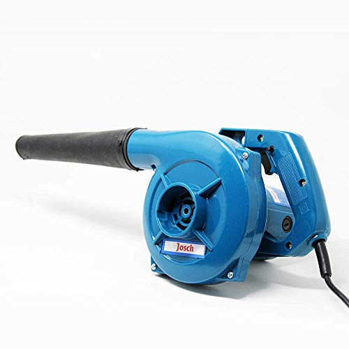 Josch JB40 Multipurpose Utility Powerful Plastic 100% Copper Winding Electric Air Blower for Home/Office/Car/Pc/Computer Dust/Garage/ Patio/Garden Leaf/Trash Cleaning (350W, 2.3 m3/min, 13000 Rpm, Blue)