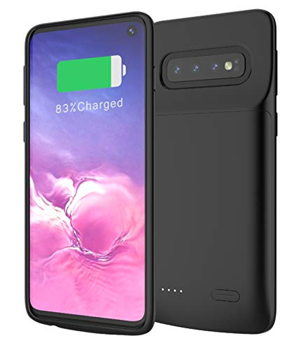 DrPhone - PowerCase Samsung Galaxy S10 - Batterij Case 4700mAh ? PowerBank ? Batterij Hoesje