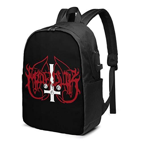 HOIH Marduk Logo Mochila para computadora portátil de viaje Cómoda mochila para...