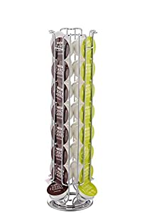 Dolce Gusto - Dispensador giratorio para 32 cápsulas de café, soporte para cápsulas, gira para fácil acceso