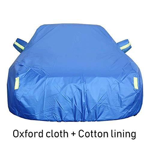 GLP Couverture de voiture est pour Jeep Patriot 2011/2012/2013/2014 2.4L, 2014 2.0L, Doublure en Tissu Oxford/Coton Housse de Protection pour UV Rain Snow (Color : H, Size : 2011 2.4L)
