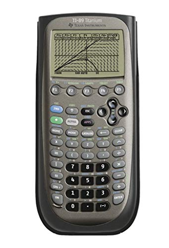 Texas Instruments TI 89Titanium Grafikrechner schwarz