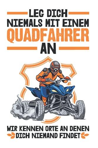 Quadfahrer Tagesplaner: Quad fahren ATV Quadfahrer Biker Geschenk / Kalender 2022 / Wochenplaner Tagesplaner Planer / Planungsbuch To-Do-Liste / 6x9 Zoll / 100 ausfüllbare Seiten