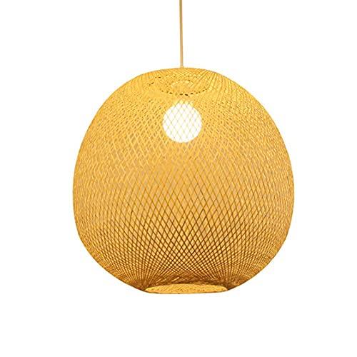 YANGDONG-Luz de cristal de estilo industrial creat Lámpara colgante de ratán chino Lámparas de cintado de techo de bambú japonés Personalidad creativa Chandelier chino antiguo té edificio arte cafe re