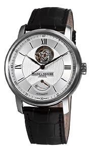 Baume Mercier Men's 8869 Classima Executives Open Silver Guilloche Dial Watch
