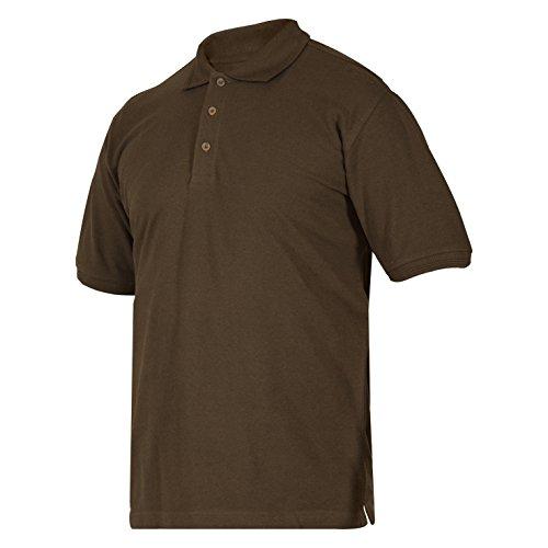 Deerhunter Redding Polo Shirt Bark Green Large Green