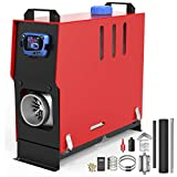 IMAYCC 8KW All-in-One Diesel Air Heater 12V with LCD Switch & Remote Control for Trucks Car Boat Caravan SUV RV Diesel Heater