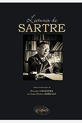 Lectures de Sartre Broché