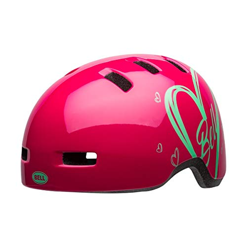 Bell Unisex Jugend Lil Ripper Fahrradhelm Kids, pink Adore, One Size | 48-55cm