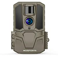 WOSPORTS 30MP 1440P FHD 120 deg Wide Angle Lens Hunting Game Camera