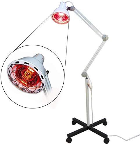 For Sale! Recover from Injury Faster with Standing TDP Red Heating Lamp Physiotherapy Heat Therapy D...