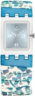Swatch Women's SUBK141A Crushed Ice L Year-Round Analog Quartz Blue Watch