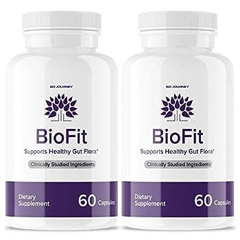 2 Pack  Biofit Probiotic Weight Management Pills Supplement Bio Fit Probiotics Tea Tablets  120 Capsules