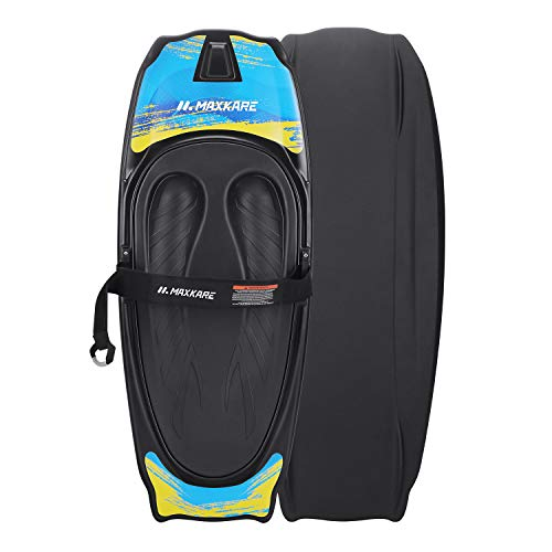 MaxKare Kneeboard with Hook Strap Surfing Boating Waterboarding Kneeling EVA Pad Outdoor Watersport for Kids, Teens & Adults