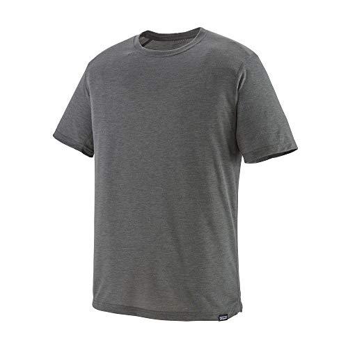 Patagonia M's Cap Cool Trail T-Shirt für Herren M grau (Forge Grey)
