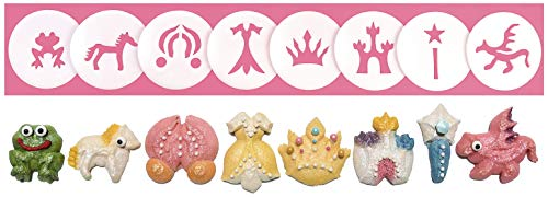 Princess & Fairytales 8 Disk Set for Cookie Presses
