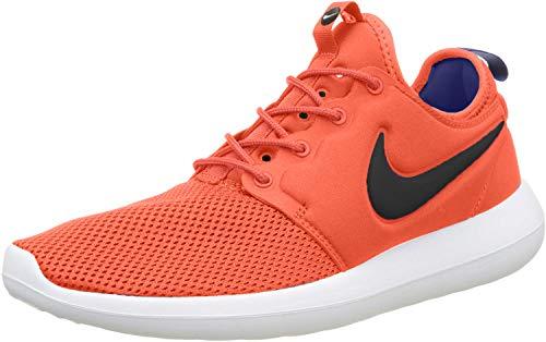 Nike Roshe Two, Formatori Uomo, Arancione (Max Orange/black-deep Night-white), 42.5 EU