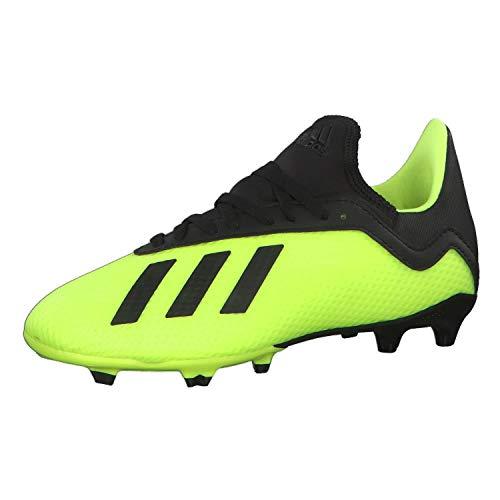 adidas X 18.3 Fg, Scarpe da Calcio Uomo, Giallo (Syello/Cblack/Syello Syello/Cblack/Syello), 37 1/3 EU