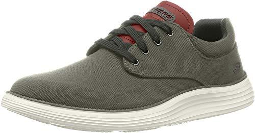 Skechers Men's Status 2.0 Burbank Sneaker, DKTP, 8 UK