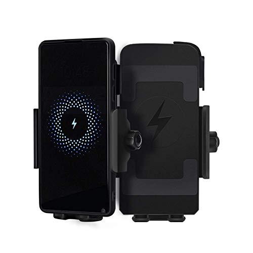 LILICEN Cargador de teléfono móvil Cargador inalámbrico for Motocicleta Bicicleta Protección de Chips de Carga rápida 10W32V