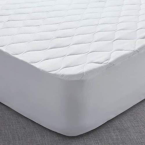 CnA Stores - Quilted Mattress Protector King Size Extra Deep Fitted 40cm Non-Allergenic Mattress Cover