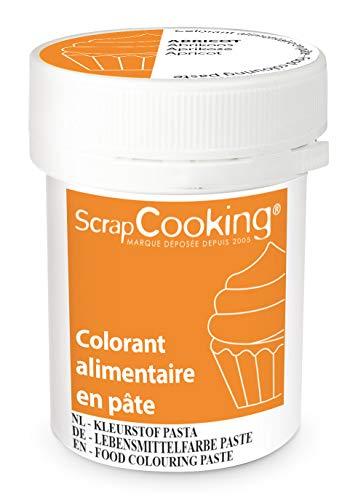Scrapcooking Colorant en Pâte Abricot 20 g