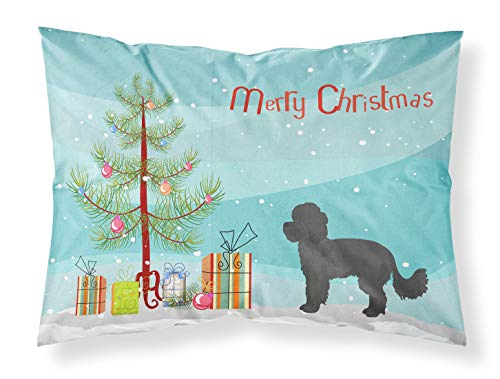 Caroline's Treasures Maltipoo - Fundas de Almohada estándar de Tela para árbol de Navidad, Multicolor