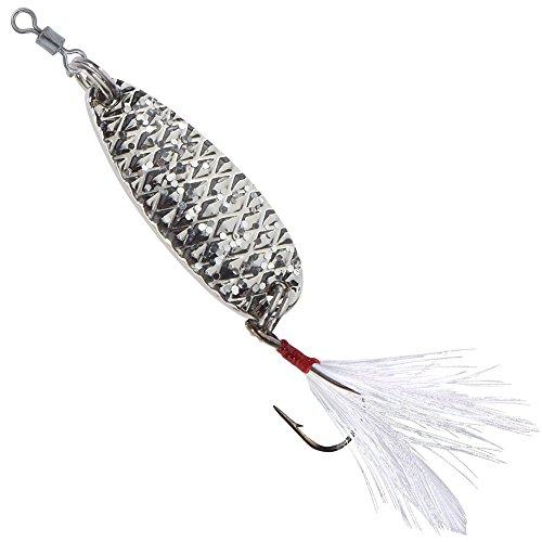 Balzer Star Dust - Forellenblinker zum Spinnfischen auf Forellen, Blinker zum Forellenangeln, Forellenköder zum Spinnangeln, Farbe:Silberfarben, Länge/Gewicht:3.5cm / 6.5g