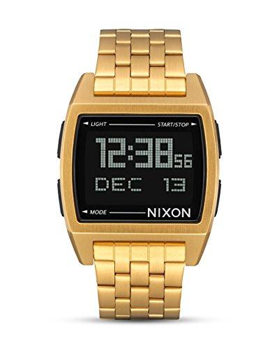 Nixon Reloj Unisex Adultos de Digital con Correa en Acero Inoxidable A