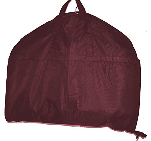 HBCOLLECTION Foldable borsa porta abiti da viaggio, Custodia per costumi Borgona