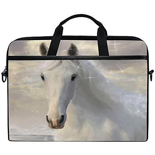 3D Animal Horse Laptop Bag Case Sleeve Briefcase Waterproof Shoulder With Strap For Ultrabook Notebook 14 Inch