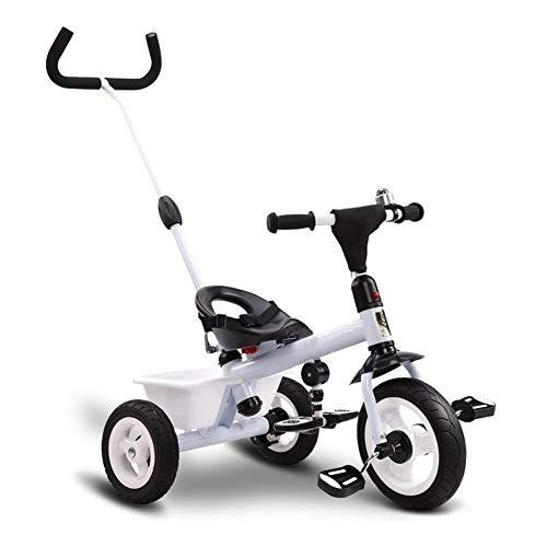 WENJIE Triciclo Bicicleta Todo Terreno Bebé De Los Niños Al Aire Libre Es Adecuado For Niños De 1-6 Años De Edad 3 Colores Se Puede Hacer como Un Niño De Regalos Y Mano Muchacha Empuje Tricicl