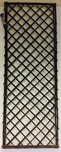 Crown Crest Straight Top Willow Panel - Willow Trellis Panel - 120cm x 45cm approx