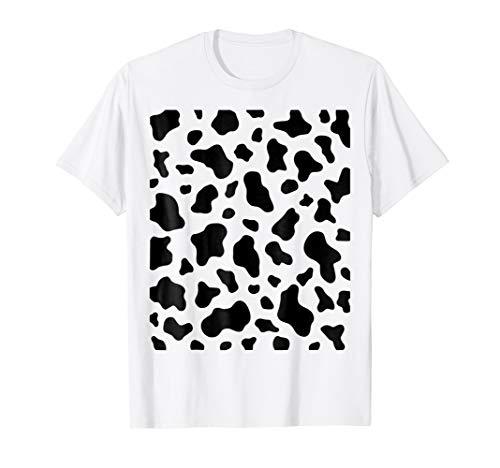 Cow Print - Simple, Easy Halloween Costume Idea - Tee Shirt