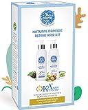 The Moms Co. Natural Damage Repair KA + Hair Care Kit with Hair