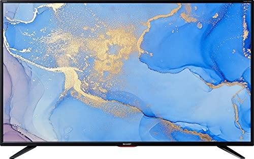 Sharp 43BJ5E 4K/UHD LED Fernseher 108 cm [43 Zoll] Smart TV HDR Schwarz