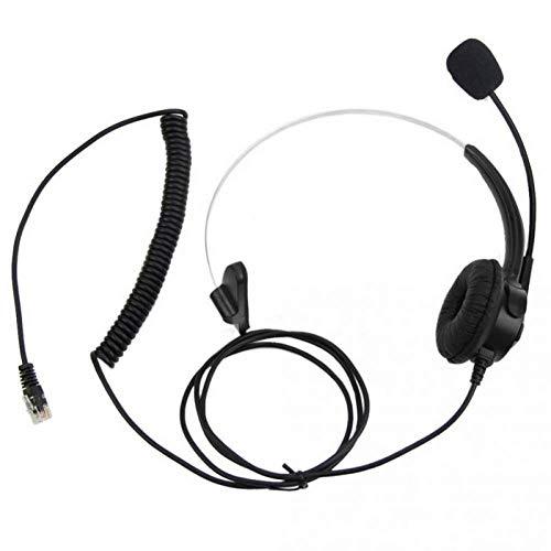 OPXZOM telefonhörlurar, monauauralhörlurar, kundtjänst, fast nättelefon, chatt, headset