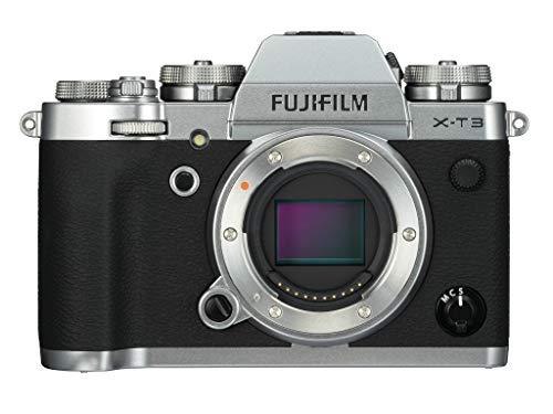 Fujifilm X -T3 Boîtier MILC 21,6 MP CMOS 6240 x 4160 pixels Noir, Argent - Appareils photos numériques (21,6 MP, 6240 x 4160 pixels, CMOS, 4K Ultra HD, 489 g, Noir, Argent)