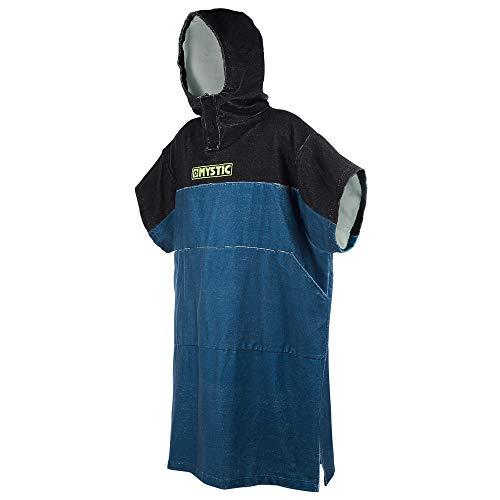 Mystic Regular Poncho oder Wickeltuch für Strand-Wassersport & Surfen - Wechsel Robe Teal - Unisex