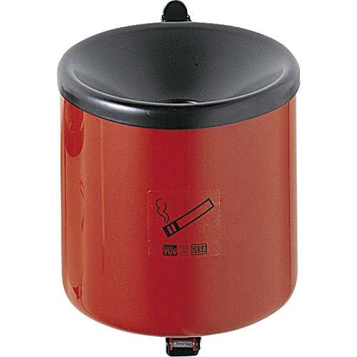 TKG 350021 Sicherheits-Wandascher mit Kippvorrichtung ø 90 mm Höhe 100 mm rot