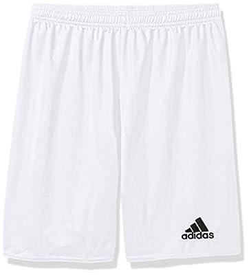 adidas Boys' Parma 16 Shorts, White/Black, XX-Small