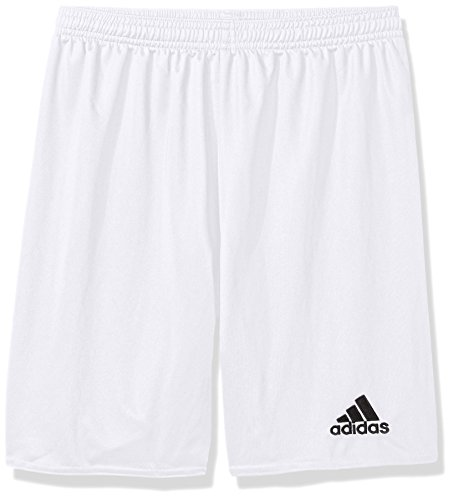 adidas Boys' Parma 16 Shorts, White/Black, X-Small