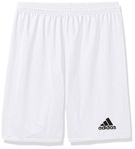adidas Boys' Parma 16 Shorts, White/Black, Medium