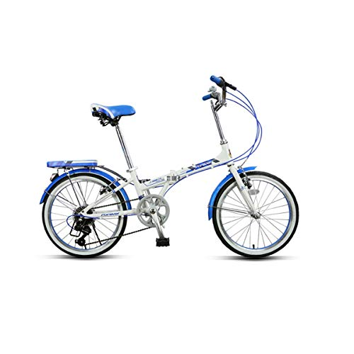 Buy WENPINHUI Road Bike, Folding Bike, Adult Female Ultra Light Portable Variable Speed Bicycle, Alu...
