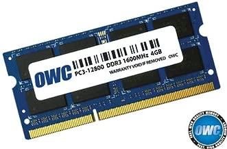 OWC PC12800 DDR3 1600MHz SO-DIMM 204 Pin RAM 4.0GB (1 x 4.0GB)